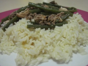 Beef, Beans, Rice